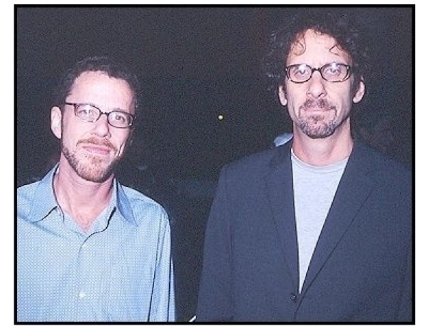 "Joel and Ethan Coen at the ""Intolerable Cruelty"" premiere"