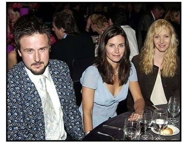 Warhol Celebrity Gala 2002: David Arquette, Courteney Cox and Lisa Kudrow
