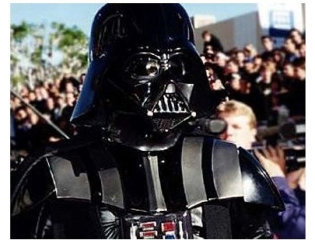 Darth Vader at the Star Wars: Episode IV -- A New Hope premiere
