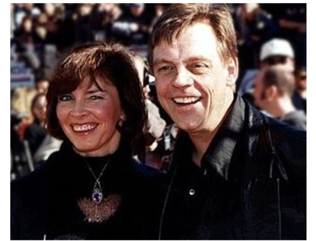 Mark Hamill and wife at the Star Wars: Episode IV -- A New Hope premiere