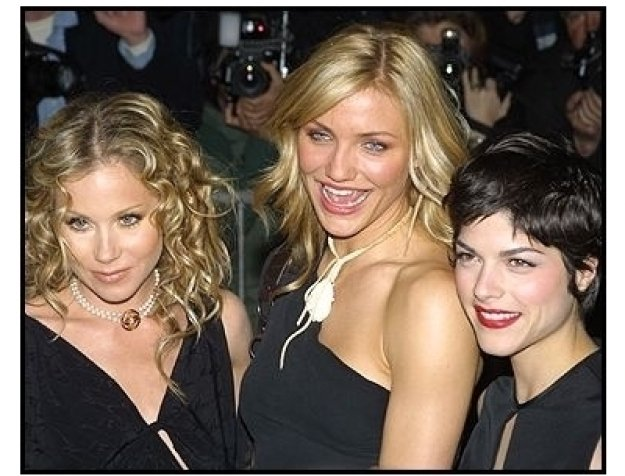 Christina Applegate, Cameron Diaz and Selma Blair at The Sweetest Thing premiere