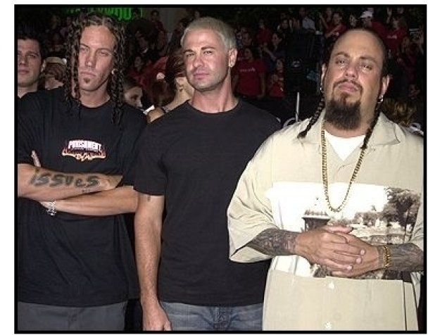 Korn at the Rock Star premiere