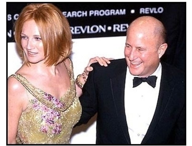 Ellen Barkin and Ron Perelman at the 2000 Fire and Ice Ball