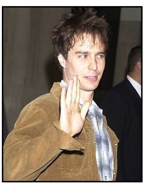 Sam Rockwell at the O Othello premiere