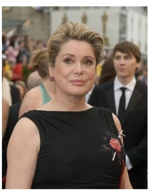 Catherine Deneuve arrives at the 79th Annual Academy Awards at the Kodak Theatre in Hollywood, CA, on Sunday, February 25, 2007.