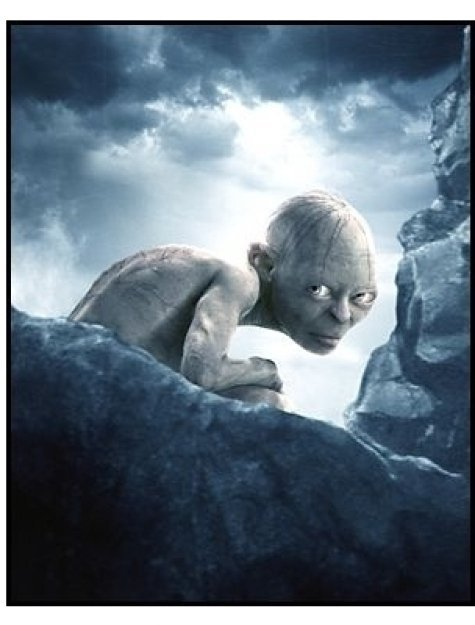 """The Lord of the Rings: The Return of the King"" Movie Still: Gollum"