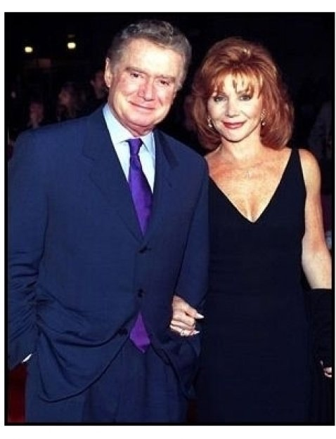 Regis and Joy Philbin at the Barbra Streisand concert