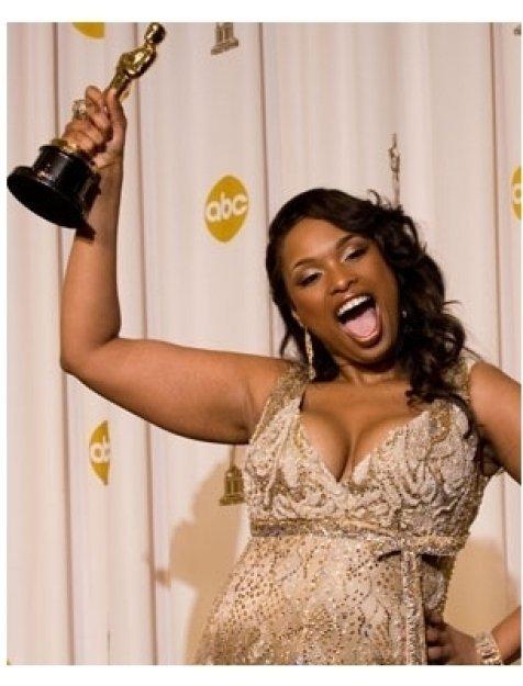79th Annual Academy Awards Backstage: Jennifer Hudson