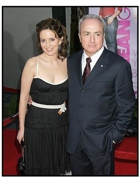 "Tina Fey and Lorne Michaels at the ""Mean Girls"" Premiere"