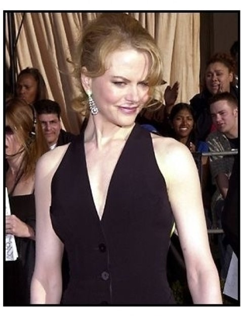 Nicole Kidman at the 2002 SAG Screen Actors Guild Awards