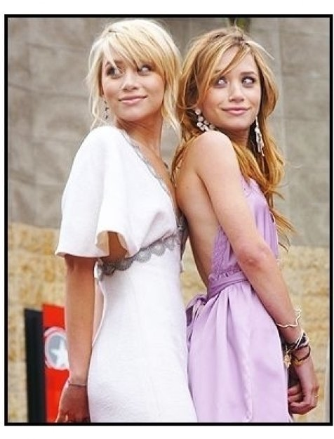 Mary-Kate Olsen and Ashley Olsen get the star on the Hollywood Walk of Fame