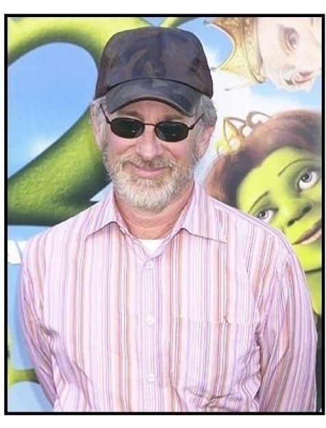 "Steven Spielberg at the ""Shrek 2"" Premiere"