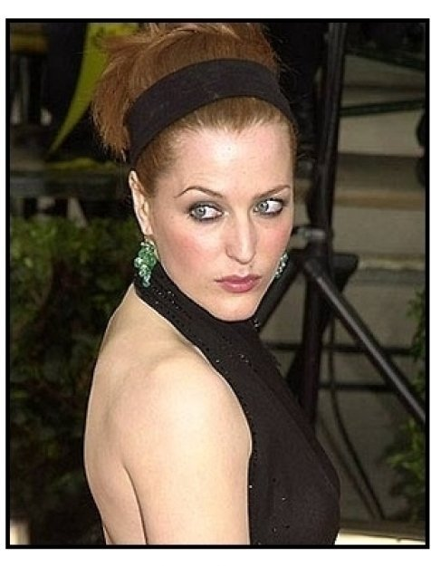 Gillian Anderson at the SAG Screen Actors Guild Awards 2001