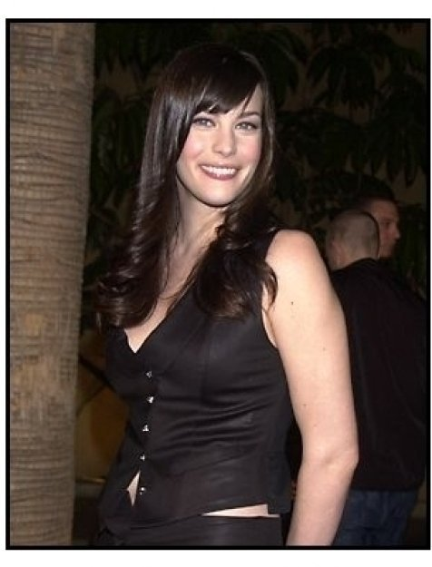 Liv Tyler at the The Lord of the Rings: The Fellowship of the Ring premiere