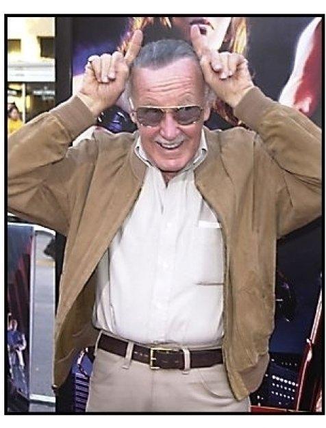 "Stan Lee at the ""Daredevil"" premiere"