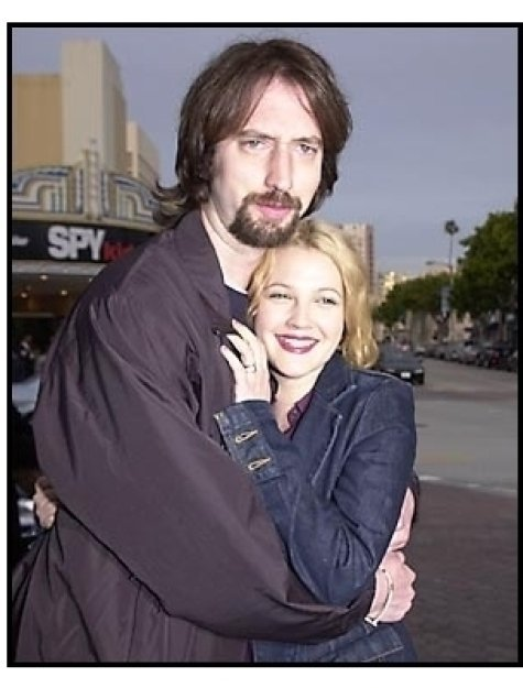 Tom Green and Drew Barrymore at the Freddy Got Fingered premiere