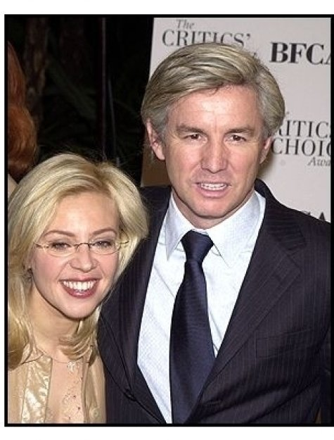 Baz Luhrmann and wife Catherine Martin at the 2002 Broadcast Film Critic's Choice Awards