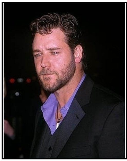 """Russell Crowe at """"The Insider"""" Premiere"""