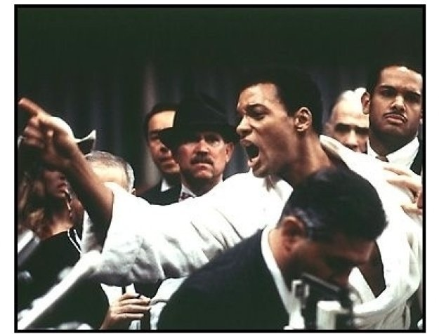 Ali movie still: Will Smith as Muhammad Ali