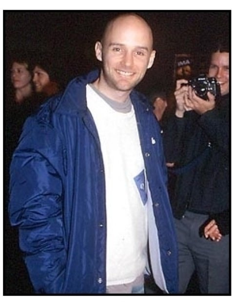Moby at the All Access premiere