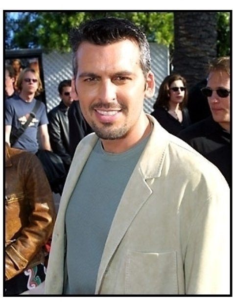 Oded Fehr at The Mummy Returns premiere