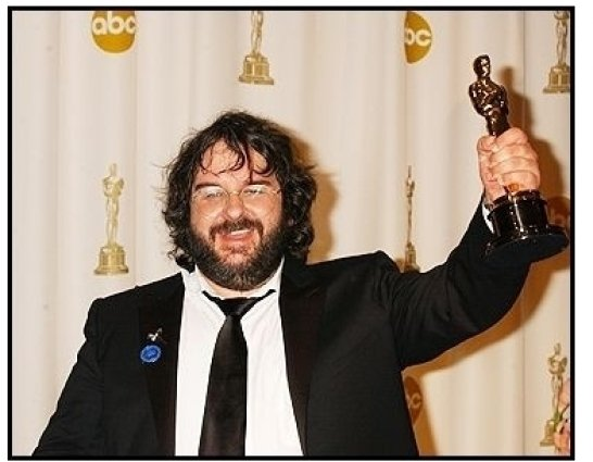 76th Annual Academy Awards - Peter Jackson - Backstage