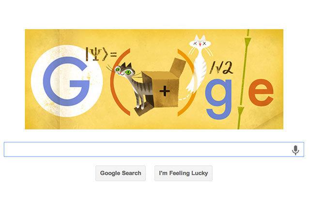 Google Doodle, Schrodinger's Cat