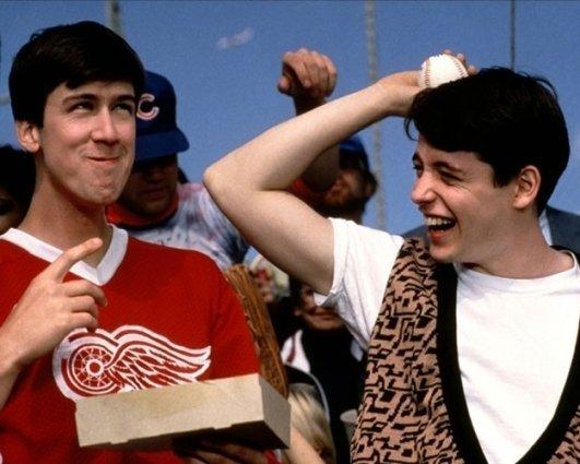 Alan Ruck in 'Ferris Bueller's Day Off'