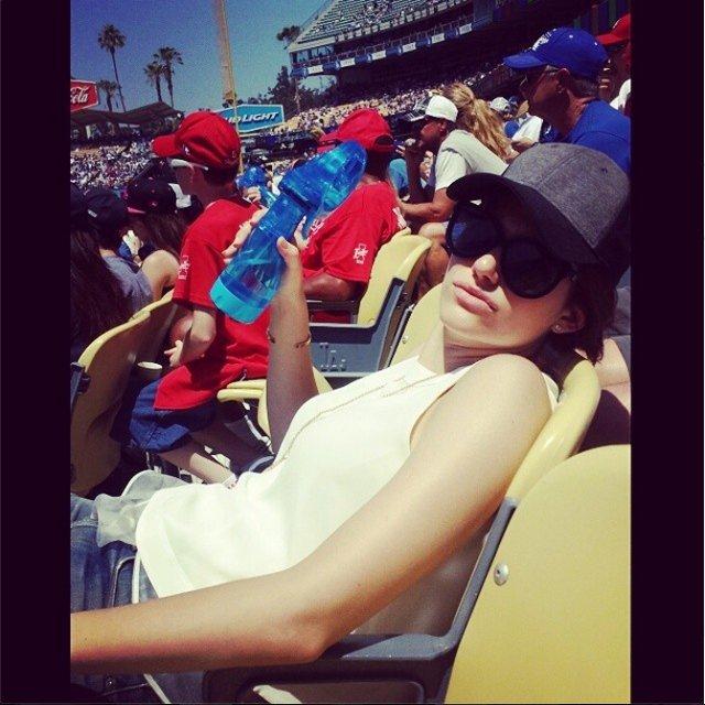 Emmy Rossum, Instagram